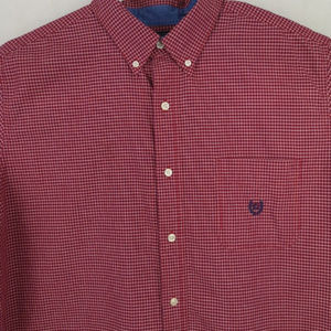 Chaps Easy Care Long Sleeve Button Down Shirt XL
